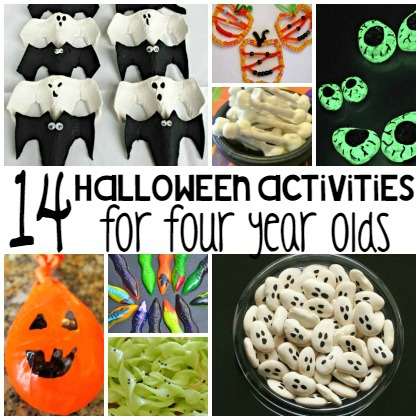halloween activities for four year olds