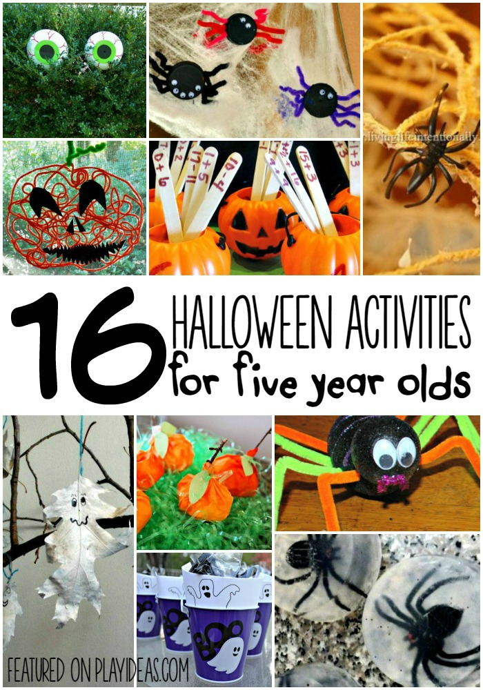 Halloween activities for five year olds