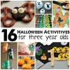 16 Halloween Activities For 3 Year Olds