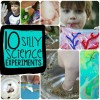 10 Silly Science Experiments For Kids