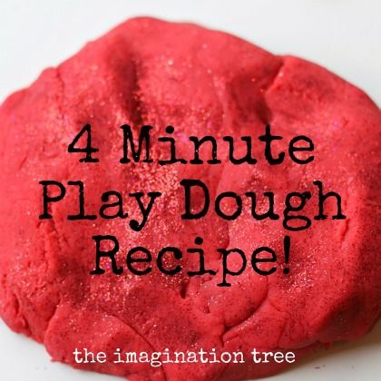 4 minute play dough