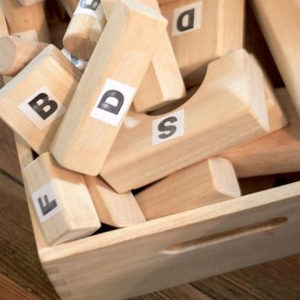 420 Letter Building Blocks from Hands On As We Grow