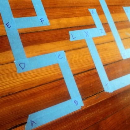 420 Letter Maze from Hands On As We Grow