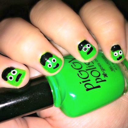 420 frankenstein nails