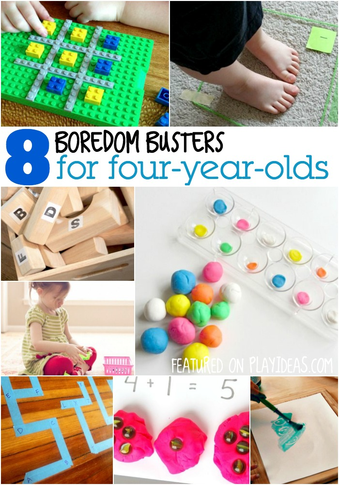 8 boredom busters for four year olds