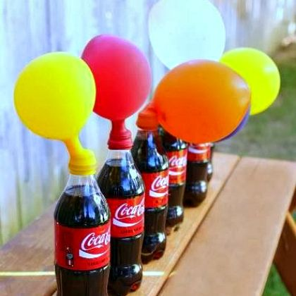 Have fun with this awesome balloon experiment with candy, again and again!