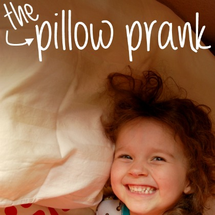 Pillow-prank