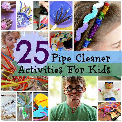 Pipe Cleaner Projects Pipe Cleaner Pinterest_0