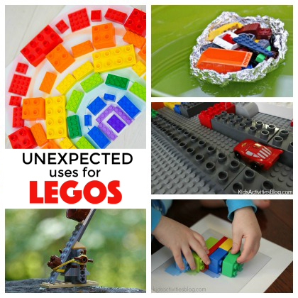 11 Unexpected Ways to Use LEGOs