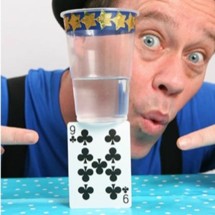 balance a glass