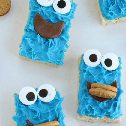 cookie-monster-rice-krispie-treats-