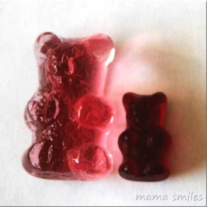 grow a gummy bear