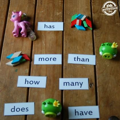 math sight word game