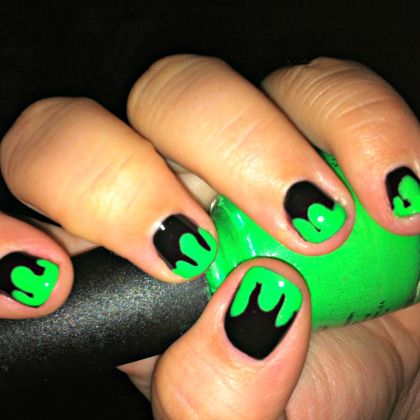 slime nails 420