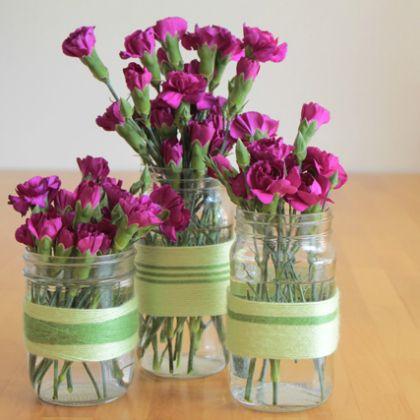 yarn-vases