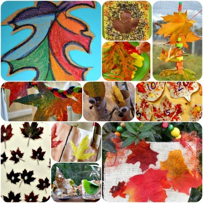 16 Leafy Crafts and Activities For Kids