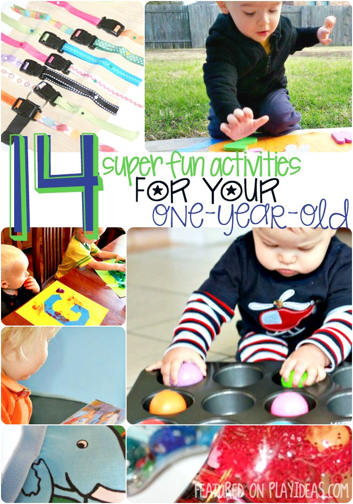 14 super fun activities for your one year old