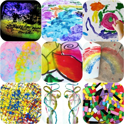 Art project ideas for year 4 look to him and be radiant for Painting ideas for 4 year olds
