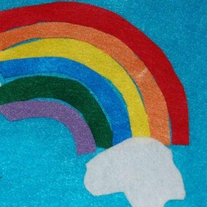 Felt Rainbow Puzzle