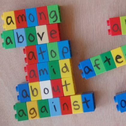 LEGO Spelling Game