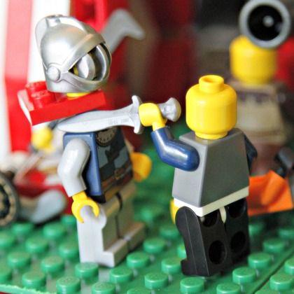 LEGO beheading