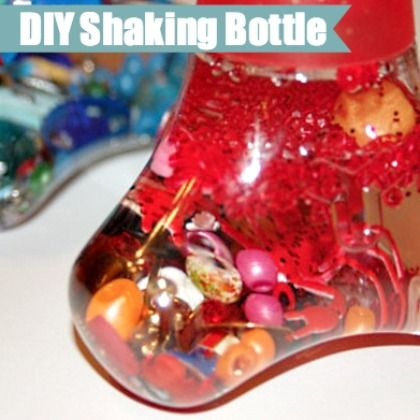 Shaking Bottle for 1 year olds from Kids Activities Blog