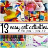 13 Easy Art Activities For Your 5 Year Old