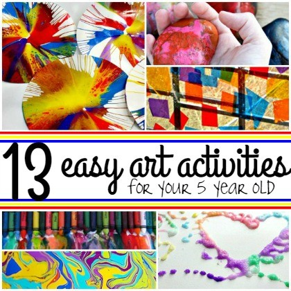 easy art activities