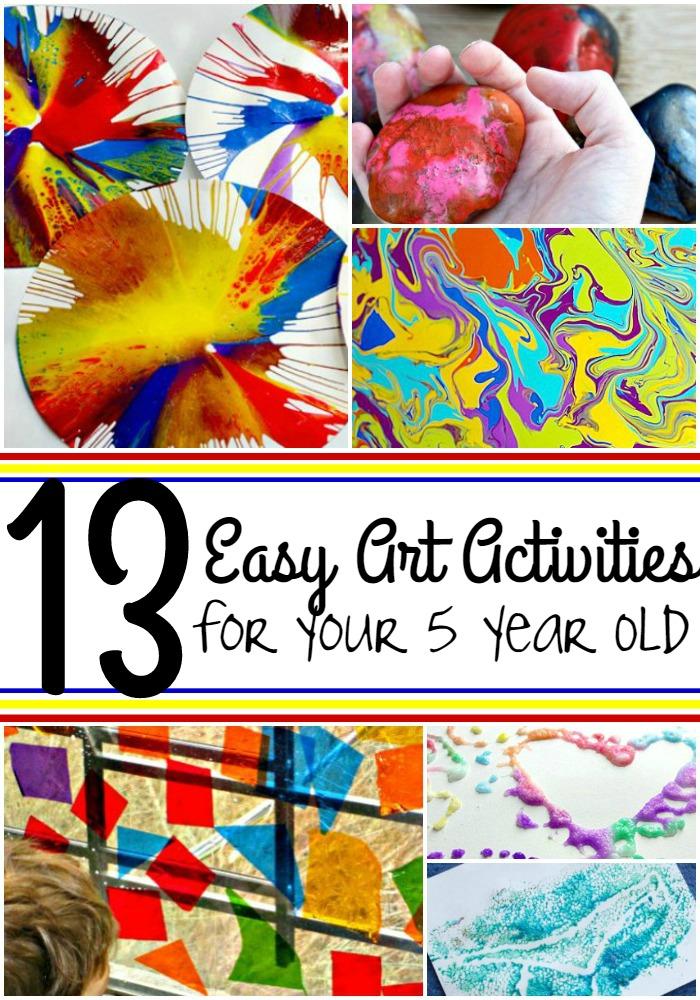 easy art activities