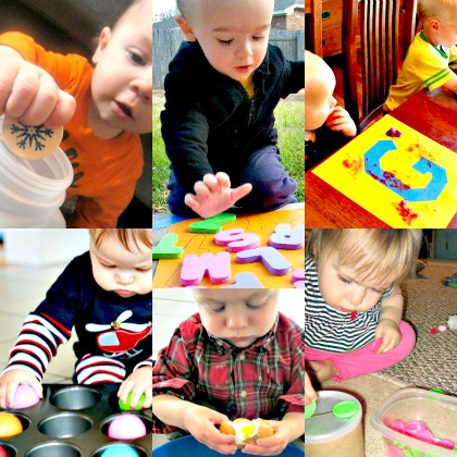 Fun Activities For 1 Year Olds from crafts to learning activities