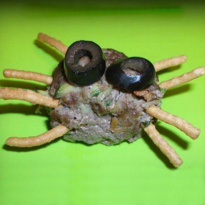 Spider Meatballs