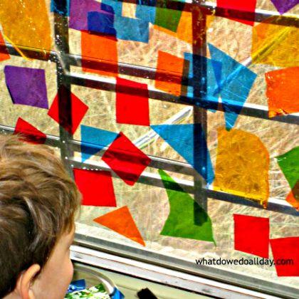 cellophane-window-art-new-kid