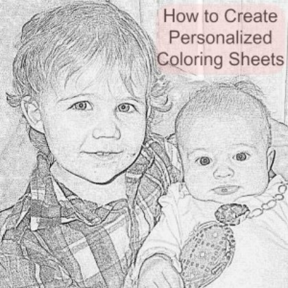 Create these printable family coloring pages for the whole family!
