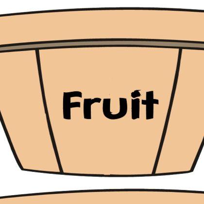 fruit or vegetable soring file folder game with the kids!