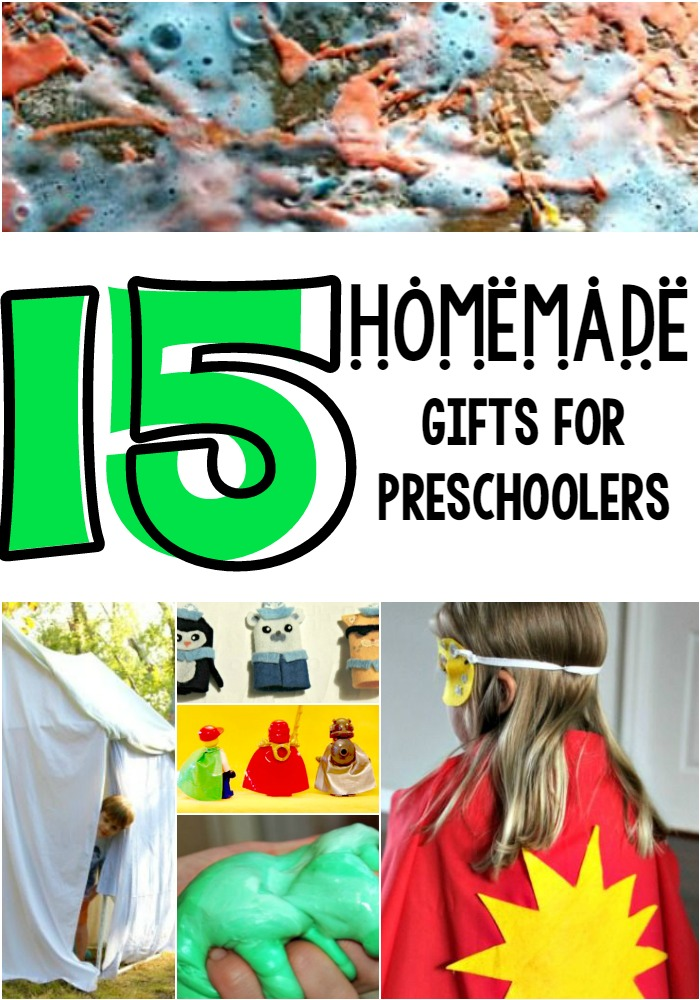 homemade gifts for preschoolers