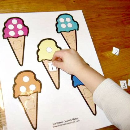 ice cream file folder