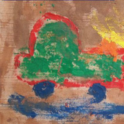 painting-with-crayon