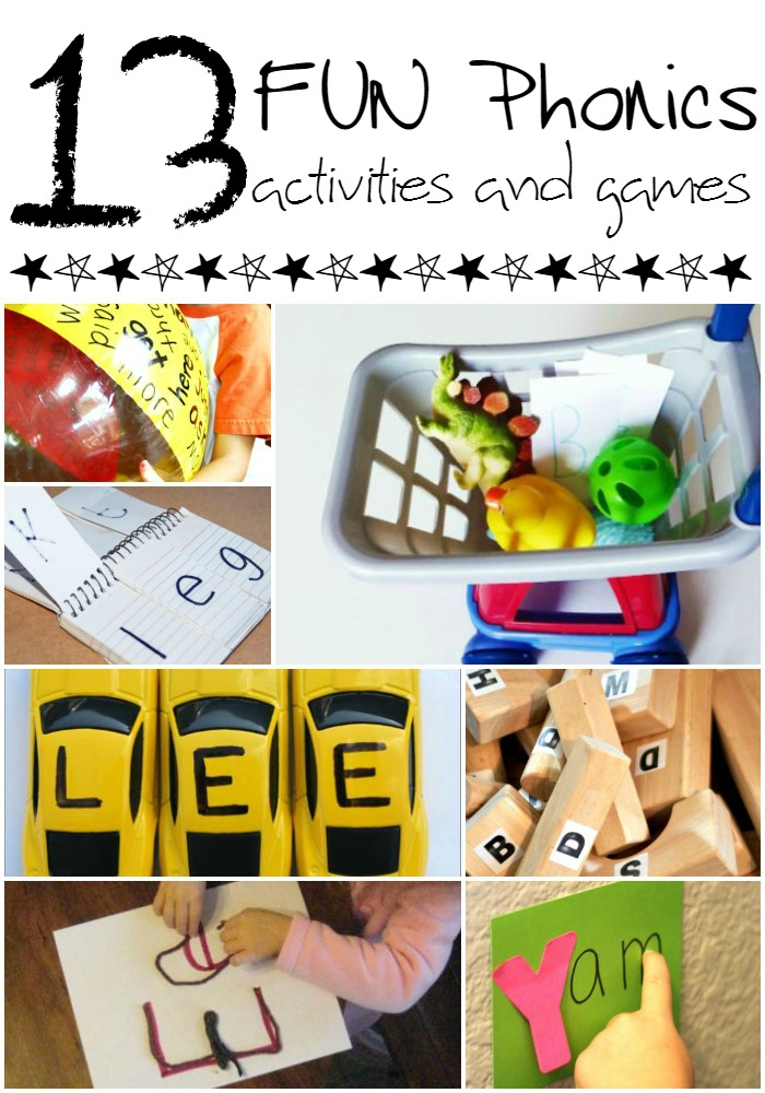 Fun Phonics Games and Activities