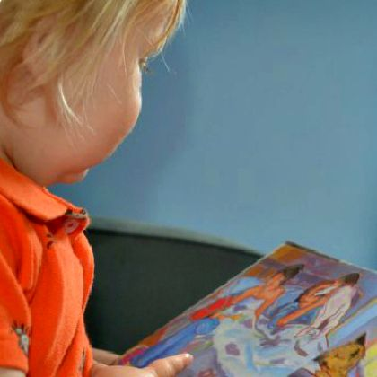reading with a 1 year old