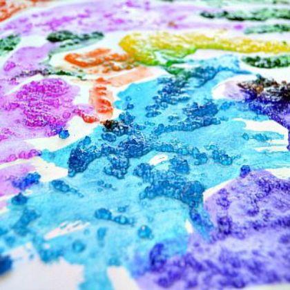 salt paint