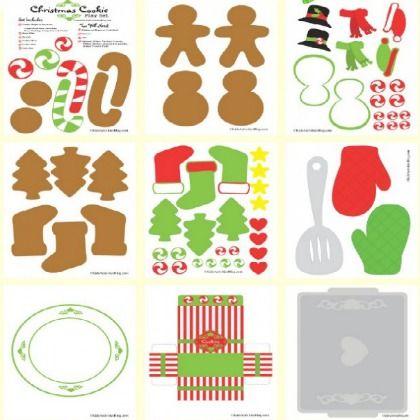 printable baking kit