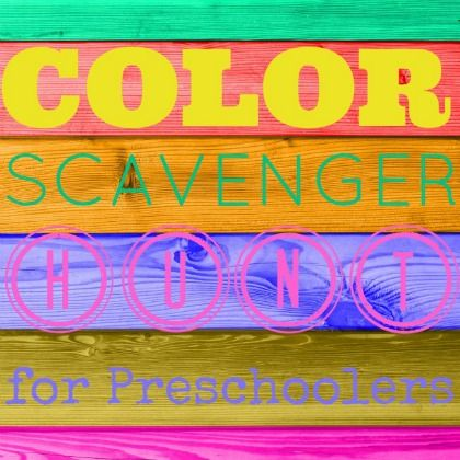 420 Color Scavenger Hunt
