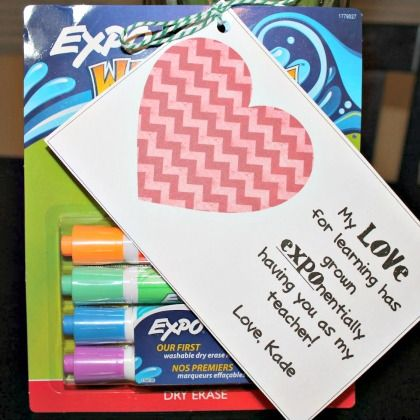 Expo Teacher Gift