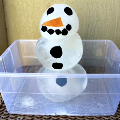 Frozen Snowman