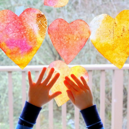 Heart Suncatcher Craft
