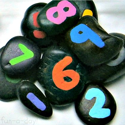 Number-Rocks-Matching-Game-for-Math-Fun-from-Fun-A-Day-at-B-InspiredMama