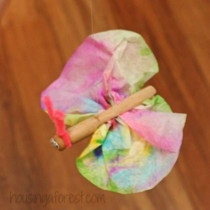 how to make butterfly tie