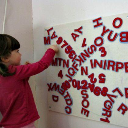 alphabet felt