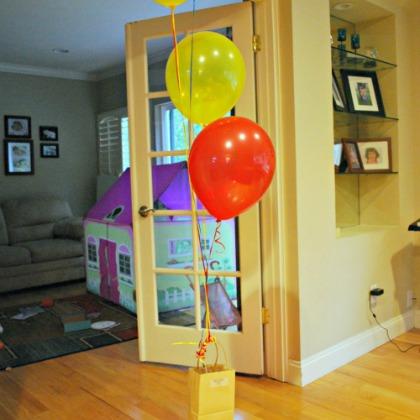 bag balloons