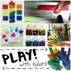 12 Ways For Preschoolers To Play With Color